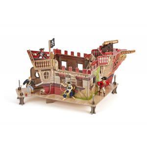 Papo - 60254 - Le Fort Pirate  - Dim. 46 cm x 37 cm x 29 cm (380802)