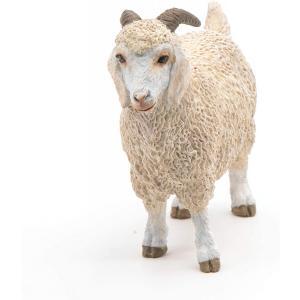 Papo - 51170 - Chèvre angora - Dim. 8,6 cm x 3 cm x 6,5 cm (380844)