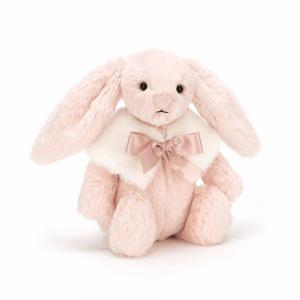 Jellycat - BASS4BS - Bashful Blush Snow Bunny Small 18 cm (380884)