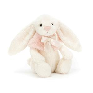 Jellycat - BASS4CS - Bashful Cream Snow Bunny Small -  cm (380886)