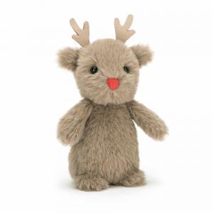 Jellycat - F6R - Fluffy Reindeer 14 cm (380896)