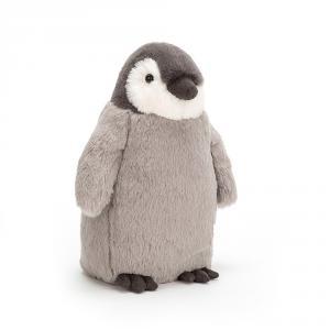 Jellycat - PER6L - Peluche pinguin Jazzy - L = 13 cm x l = 10 cm x H =24 cm (380902)