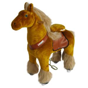 Ponycycle - N3043 - Cheval royal hauteur siège 49 cm - dim. 62 x 28 x 76 cm (380964)