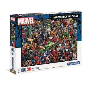 Clementoni - 39411 - Puzzle Impossible 1000 pièces - Marvel (Ax1) (380984)