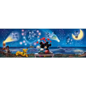 Clementoni - 39449 - Puzzle Infant panorama 1000 pièces - Panorama - Mickey et Minnie (380996)