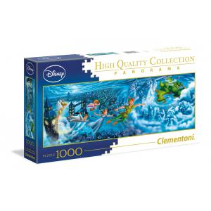 Clementoni - 39448 - Puzzle Infant panorama 1000 pièces - Panorama - Peter Pan : Night Flights (380998)