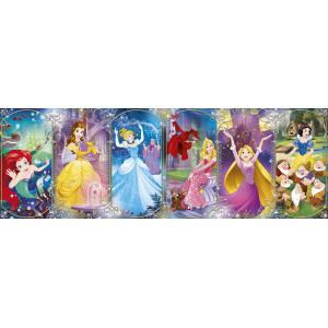 Clementoni - 39444 - Puzzle Infant panorama 1000 pièces - Panorama - Princess (Ax1) (381006)