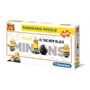 Clementoni - 39443 - Puzzles panorama 1000 pièces - Panorama - Despicable Me 3 (A2x1) (381008)