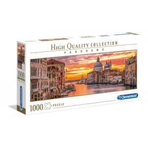 Clementoni - 39426 - Puzzle 1000 pièces panorama - Panorama - The Grand Canal - Venice (381026)