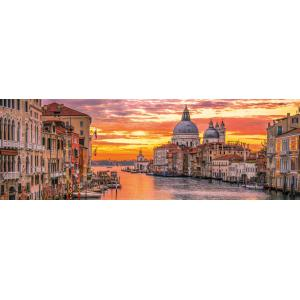 Clementoni - 39426 - Puzzles panorama 1000 pièces - Panorama - The Grand Canal - Venice (381026)