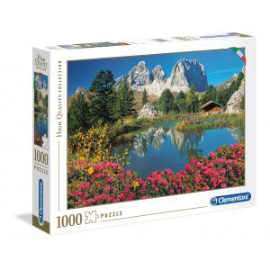 Clementoni - 39459 - Puzzles 1000 pièces high quality collection - Passo Pordoi with a view to Sassolungo (381044)