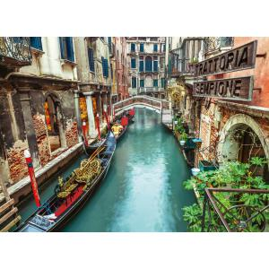 Clementoni - 39458 - Puzzle 1000 pièces  - Venice canal (381046)
