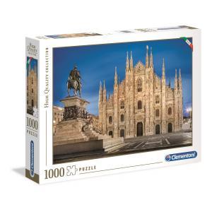 Clementoni - 39454 - Puzzle 1000 pièces  - Milan (381054)