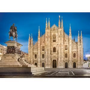 Clementoni - 39454 - Puzzle adultes 1000 Pièces - Milan (381054)