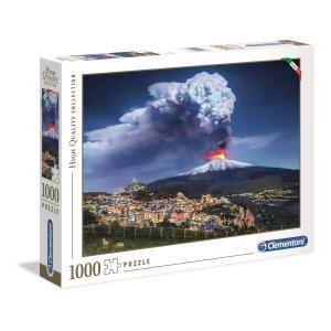 Clementoni - 39453 - Puzzle adultes 1000 Pièces - Etna (381056)
