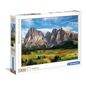Clementoni - 39414 - Puzzle 1000 pièces  - The Coronation of the Alps (381076)