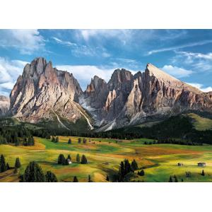 Clementoni - 39414 - Puzzles 1000 pièces high quality collection - The Coronation of the Alps (A2x1) (381076)