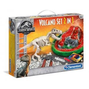 Clementoni - 19064 - Archéo Ludic Jurassic World - T-rex & Volcan (381318)