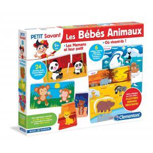 Clementoni - 52296 - Les Bébés Animaux - 2 ans et + (381394)