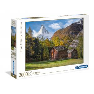 Clementoni - 32561 - Puzzles high quality collection 2000 pièces - Fascination with Matterhorn (Ax1) (381510)