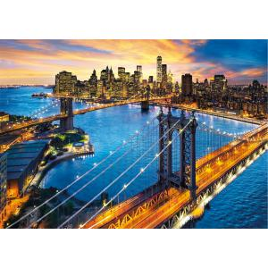 Clementoni - 33546 - Puzzles high quality collection 3000 pièces - New York (381512)
