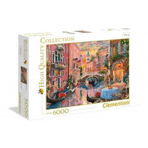 Clementoni - 36524 - Puzzles high quality collection 6000 pièces - Venice Evening Sunset (381514)
