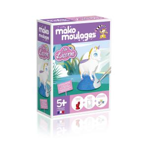Mako moulages - 39029 - Moulage  Ma licorne   Boîte unitaire (381520)