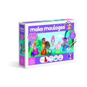 Mako moulages - 39024 - Création poterie«Mes fées» Coffret 5 moules (381532)