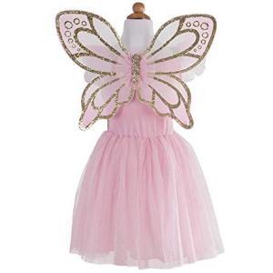 Great Pretenders - 32325 - Robe papillon avec ailes, or - 4/6 ans (381614)