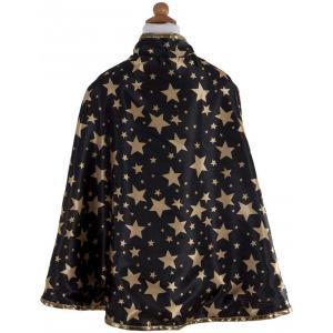 Great Pretenders - 61193 - Cape de magicien réversible avec chapeau, noir, taille EU 104-116 - Ages 3-6 years (381684)