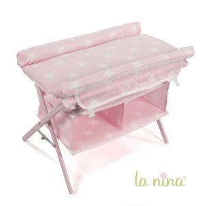 La nina - 62068 - Table a langer avec baignoire carlota (51x40x34 cm) (381756)