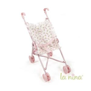 La nina - 62074 - Petite poussette meghan (27x53x41 cm) (381768)