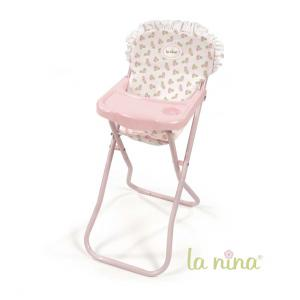 La nina - 62077 - Chaise haute meghan (27x61x35 cm) (381774)