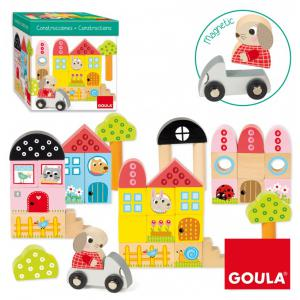 Goula - 50201 - 40 Blocs de Conctruction + lapin (382278)