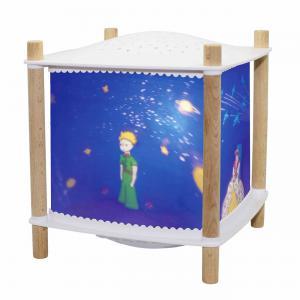 Trousselier - 6030BL - Veilleuse - Lanterne ReVOLUTION 2.0 - le Petit Prince© - Bluetooth, Musicale, Détection des Pleurs et USB Rechargeab (382764)