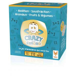 Topi Games - CC1-SM-589001 - Crazy chrono animaux et fruits - Format Mini format (13,5 x 13,5 x 7,5) (382856)