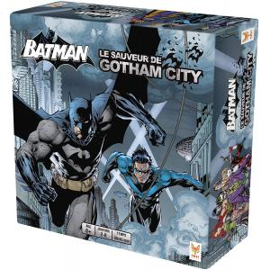 Batman - BAT-599001 - Batman le sauveur de gotham city - Format Grand (26,5 x 26,5 x 7,5) (382866)