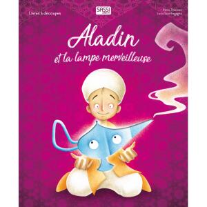 Sassi - 608149 - Livre à découpes - Aladin et La Lampe Merveilleuse (382874)