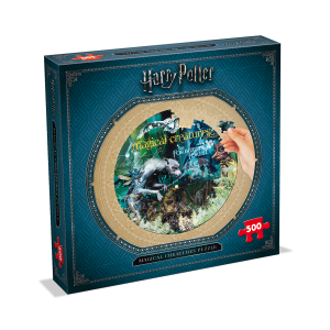 Winning moves - 2473 - Puzzle harry potter - 500 pièces - créature magique - magical creatures (382974)