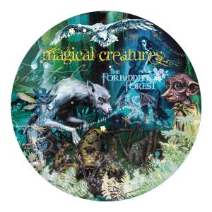 Harry Potter - 2473 - Puzzle harry potter - 500 pièces - créature magique - magical creatures (382974)