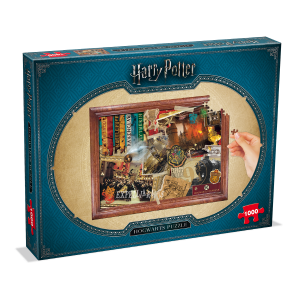Winning moves - 2466 - Puzzle harry potter - 1000 pièces - hogwarts - poudlard (382976)