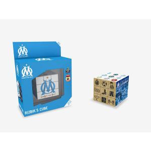 Megableu editions - 33805 - RubiK Cube Olympique de Marseille (383058)