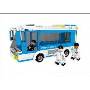 Megableu editions - 7909 - Nanostar bus Olympique Marseille (383076)