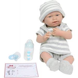 Berenguer - 18519 - Poupon Newborn nouveau né  sexué garçon avec tenue à rayures (383244)