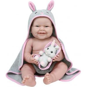 Berenguer - 18007 - Poupon Newborn nouveau né  sexué fille avec accessoires thème lapin (383260)