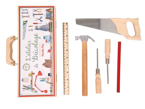 Petite valise bricolage (6 outils)