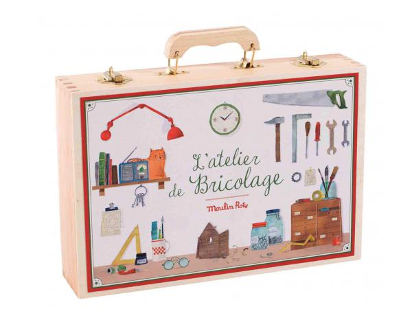 Grande valise bricolage (14 outils)