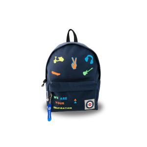Lacocarde - GM-DARKBLUE-TEENAGER - Sac à dos grand modèle darkblue teenager (383370)
