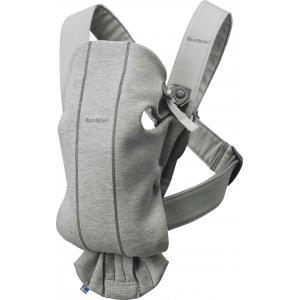 Babybjorn - 021072 - Porte-bébé Mini , Gris clair, Jersey 3D (383400)