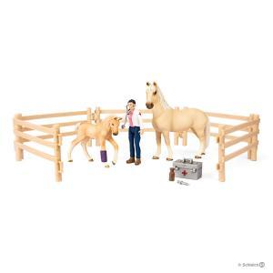 Schleich - 72119 - Kit de soin pour chevaux (383888)